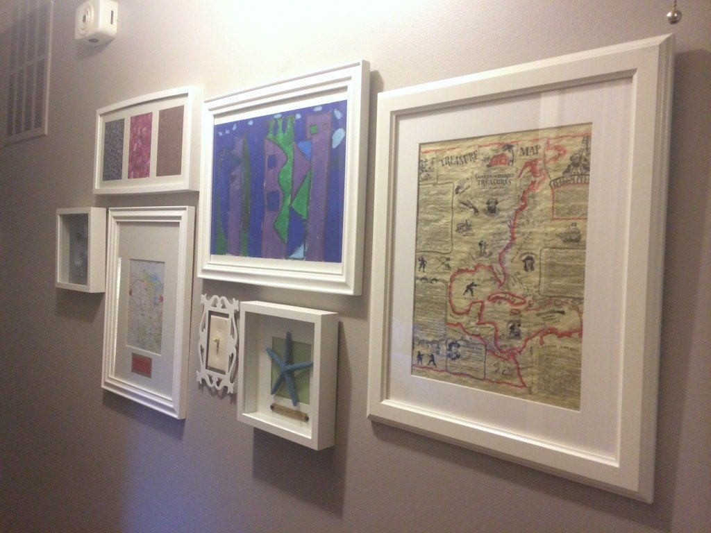 gallery wall update