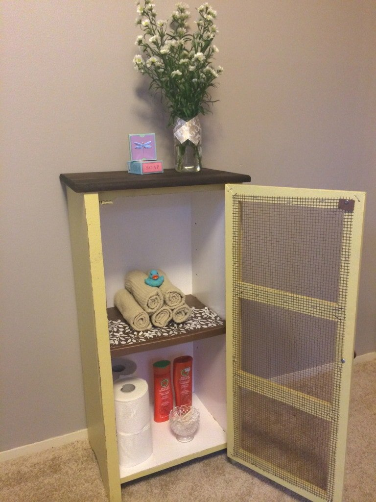 small cabinet makeover