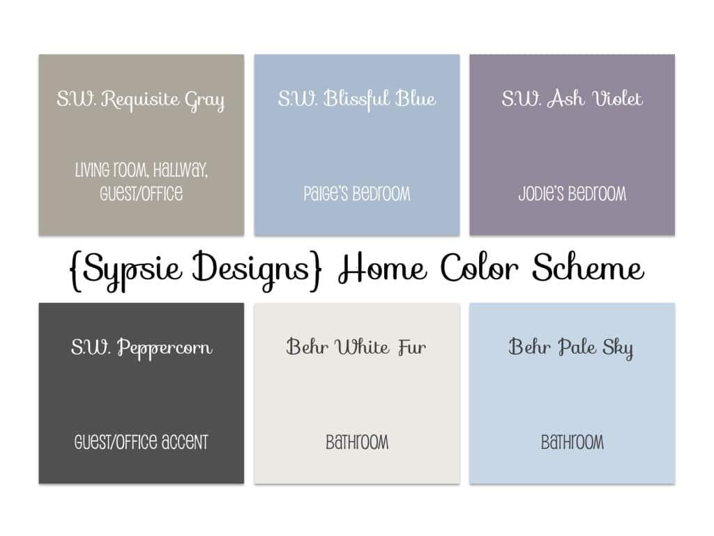 Paint Color Scheme