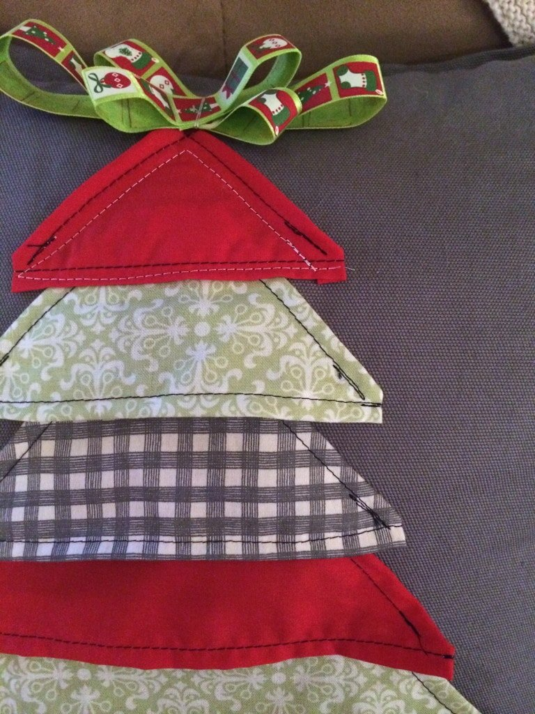 DIY $3 Christmas Tree Pillow - Sypsie Designs