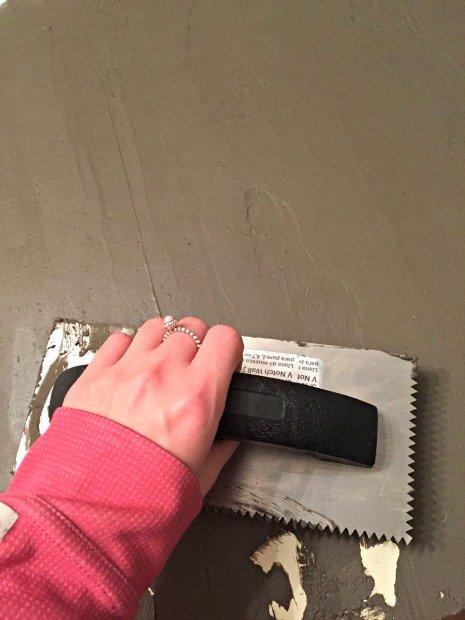 One Room Challenge- DIY Concrete Countertop - Sypsie Designs