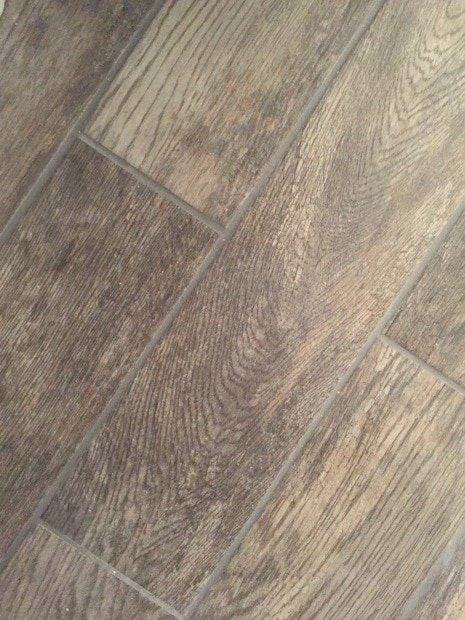 One Room Challenge- Wood Tile Flooring - Sypsie Designs