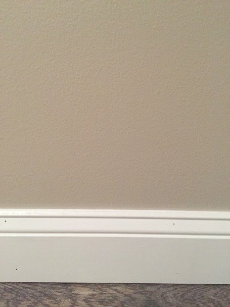 One Room Challenge- Installing Baseboards - Sypsie Designs