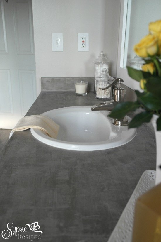 One Room Challenge: Gray and Yellow Main Bath Makeover - Sypsie Designs