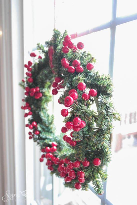 Christmas Home Tour & Wreath - Sypsie Designs