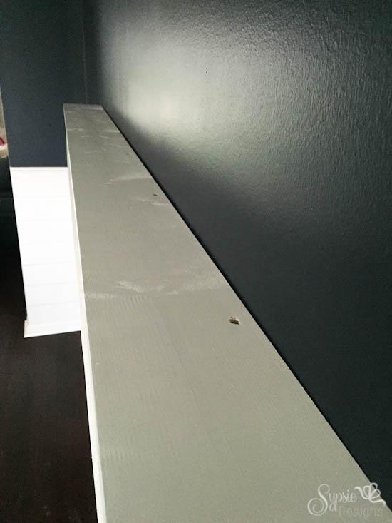 Easy 5' DIY Floating Shelf Tutorial - Sypsie Designs