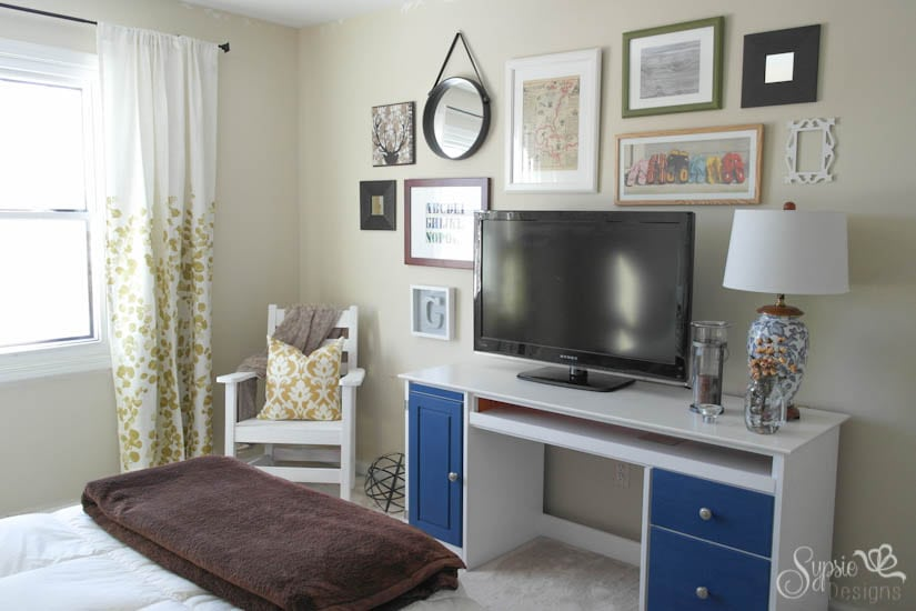 Guest Room Updates & Easy Gallery Wall - Sypsie Designs