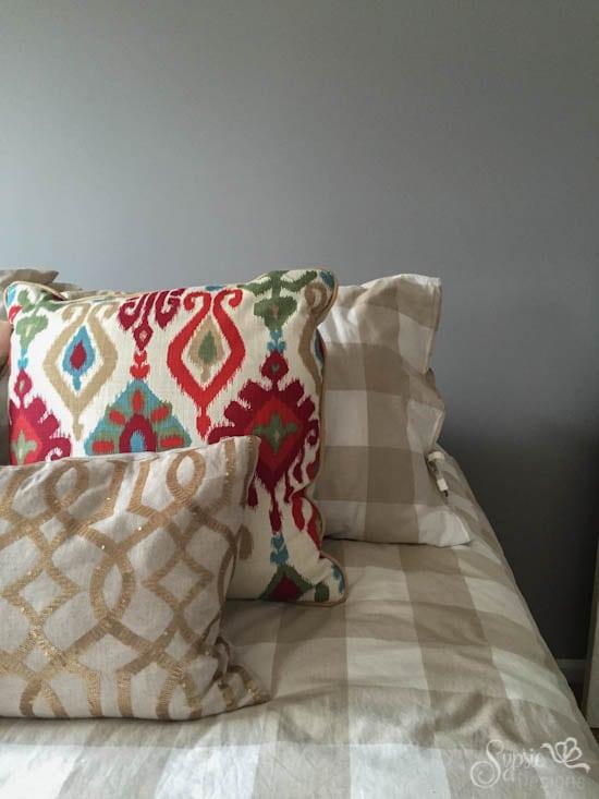 ORC Week 2 - Gray Guest Bedroom Makeover - Sypsie Designs
