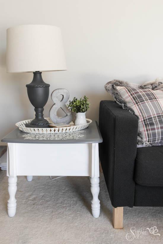 Thrifted Lamp Makeover - Sypsie Designs