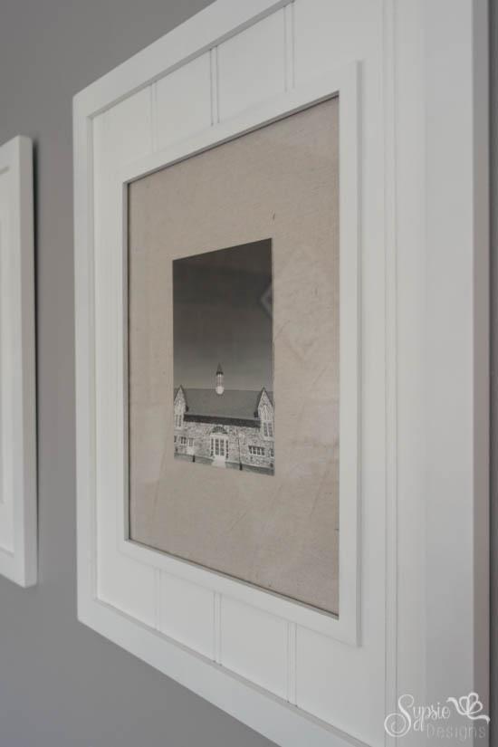 DIY Large Scale Artwork - One Room Challenge - Sypsie Designs