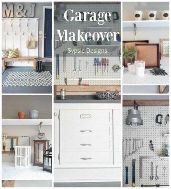 Garage Makeover - Sypsie.com