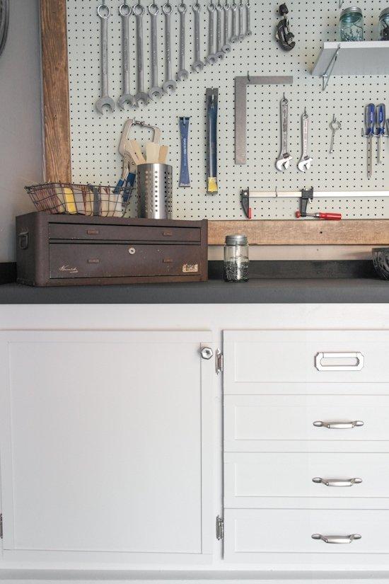 Garage Makeover - One Room Workbench Challenge - Sypsie.com