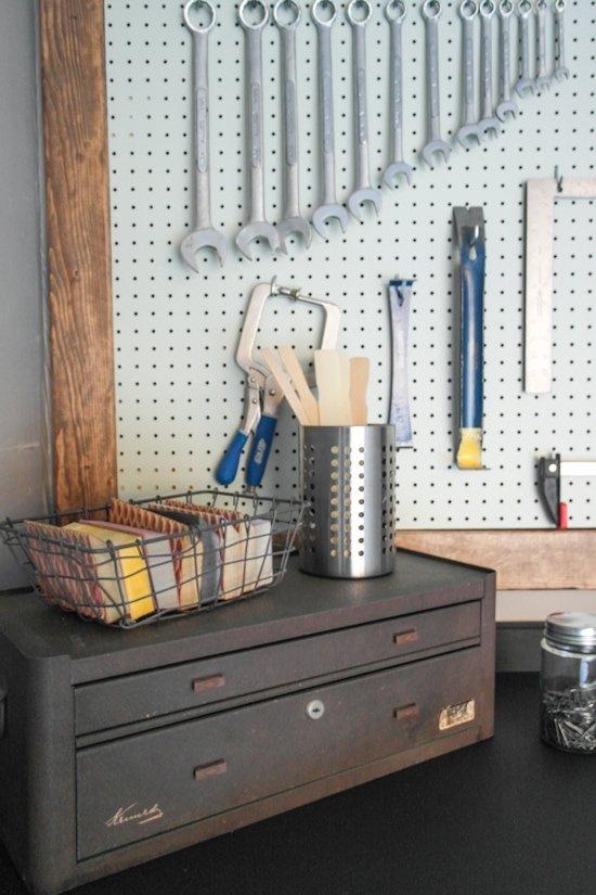 Garage Makeover - One Room Challenge - Sypsie.com