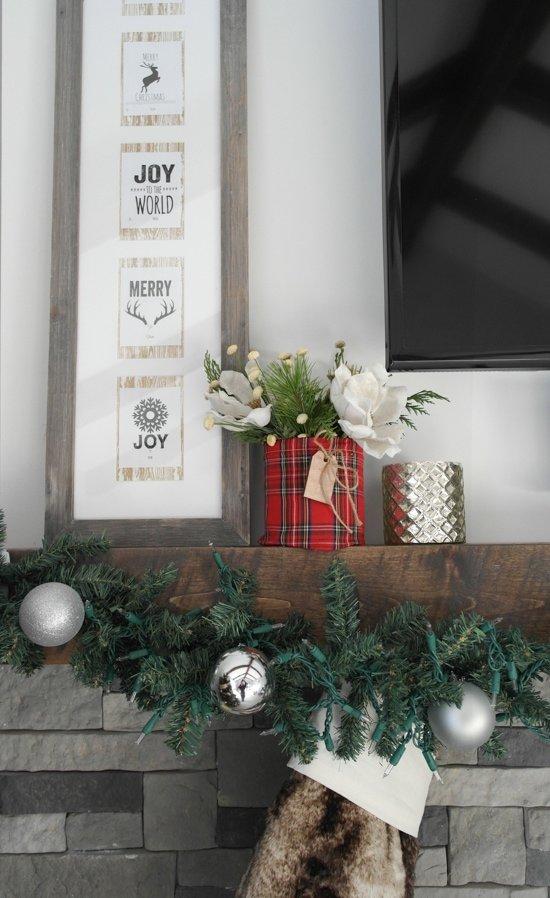 Christmas Mantle - Sypsie.com
