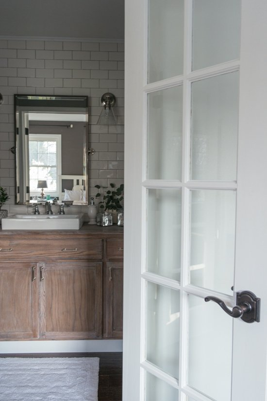Master Bathroom Makeover - Sypsie.com