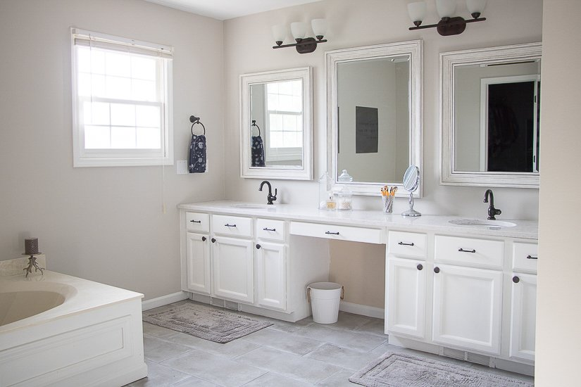 Easy Budget Master Bathroom Updates - Sypsie.com
