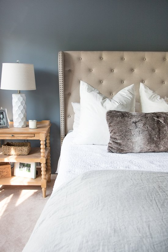 Moody Master Bedroom Refresh - Sypsie.com
