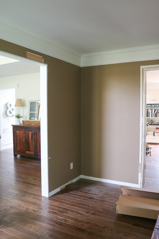 Playroom Design - Adding a Cased Opening - Sypsie.com