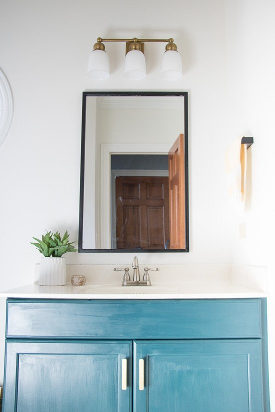 Modern Half Bathroom Progress - Sypsie.com