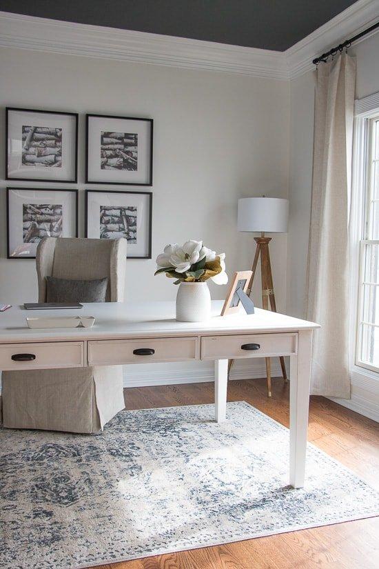 Neutral & Bold Home Office - Sypsie.com
